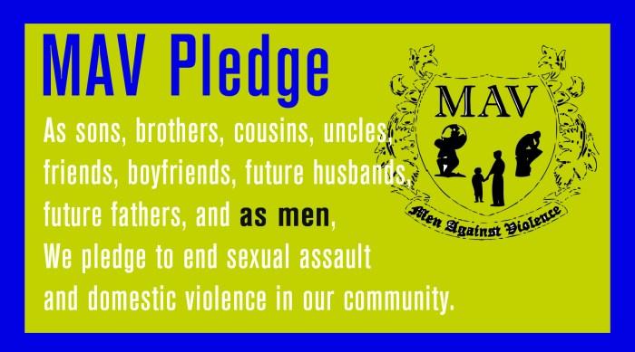 MAV pledge