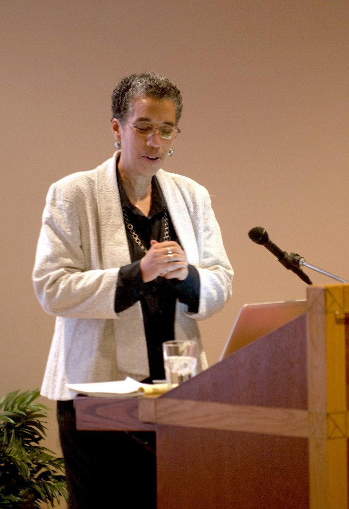 20141030, Black Power Lecture, Rosie Biehl