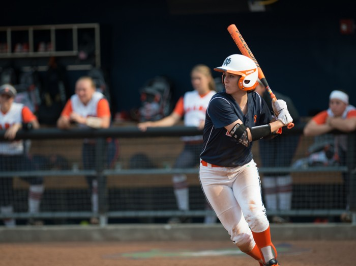 Baseball, 20150418, Game 1, Melissa Cook Stadium, Michael Yu, Orange, Softball, Syracuse