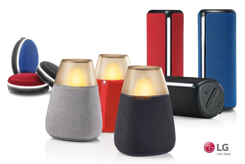LG Unveils 3 New Wireless Speakers Set to Launch at IFA 2016