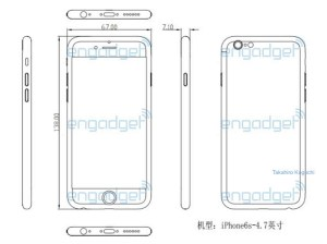 iPhone 6s Dimensions Tipped in Leaked Schematic