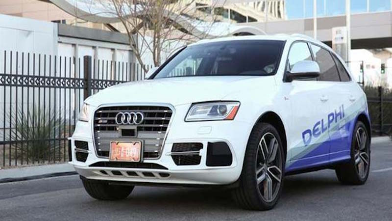 Mobileye, Delphi Partner to Develop Turnkey Self-Driving Car System