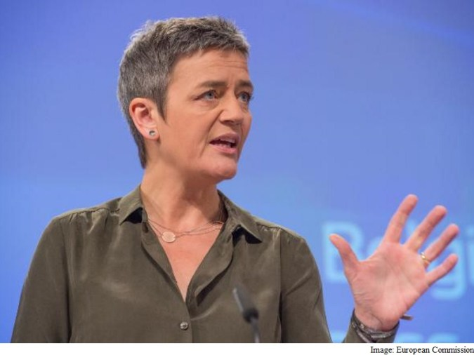 European Antitrust Chief Takes Swipe at Privacy Issue