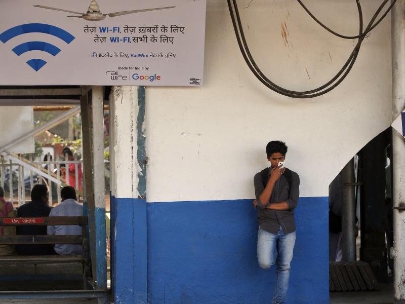 Google, RailTel Bring Free Wi-Fi Facility to 100 Railway Stations in India