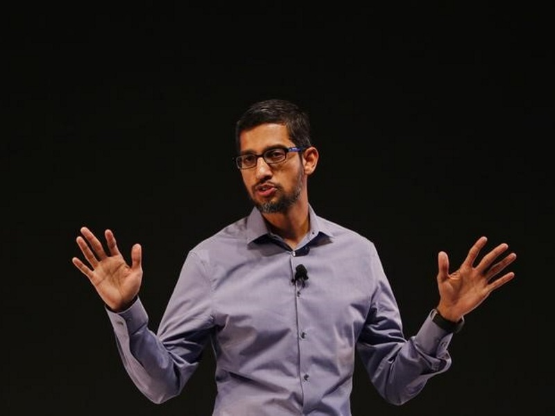 Google CEO Sundar Pichai Says UPI 'Courageous', Thinking of Services on Framework