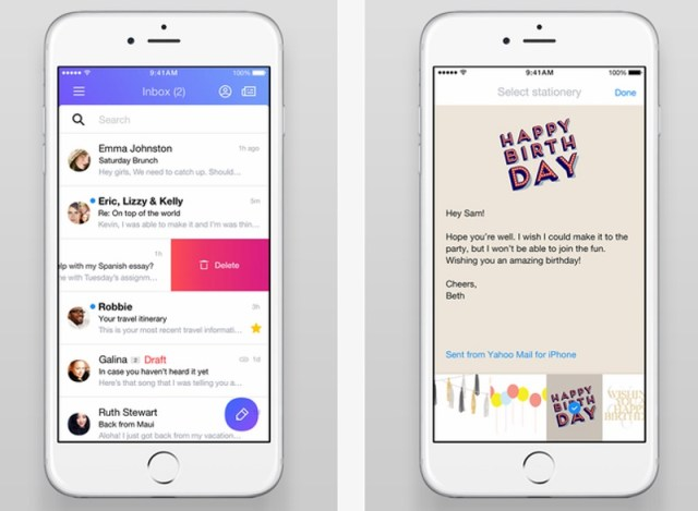Yahoo Mail Apps Revamped With Undo Send, Document Preview, and More