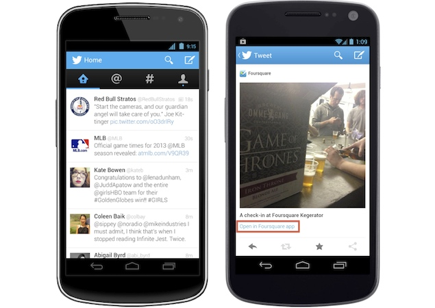 twitter updates ios, android and mobile web apps, brings