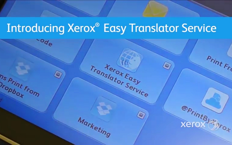 Xerox's New Service Can Translate and Print Scanned Documents