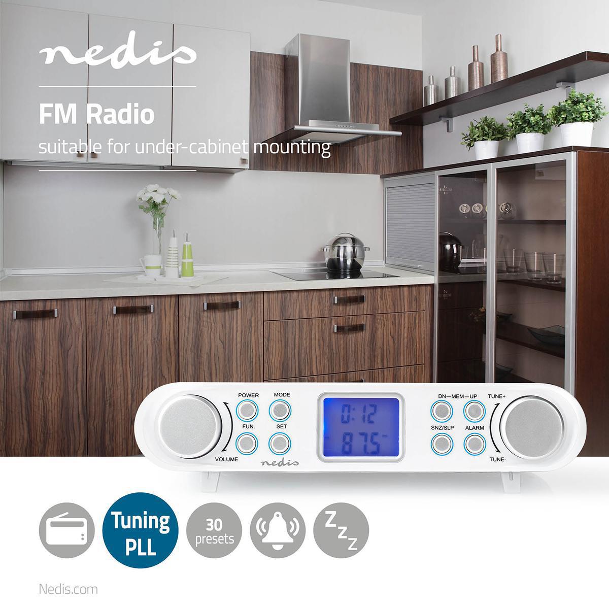 fm radio under cabinet radio 30