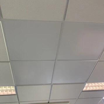 Dalle Faux Plafond 600 X 600 Blanche Mate Lavable Nelinkia
