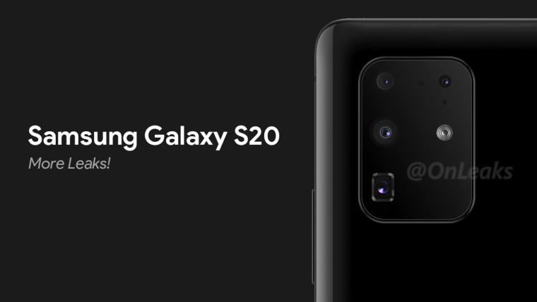 Samsung Galaxy S20 + shown in first person on video, more specifications reported