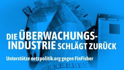 Sharepic zur FinFisher-Abmahnung