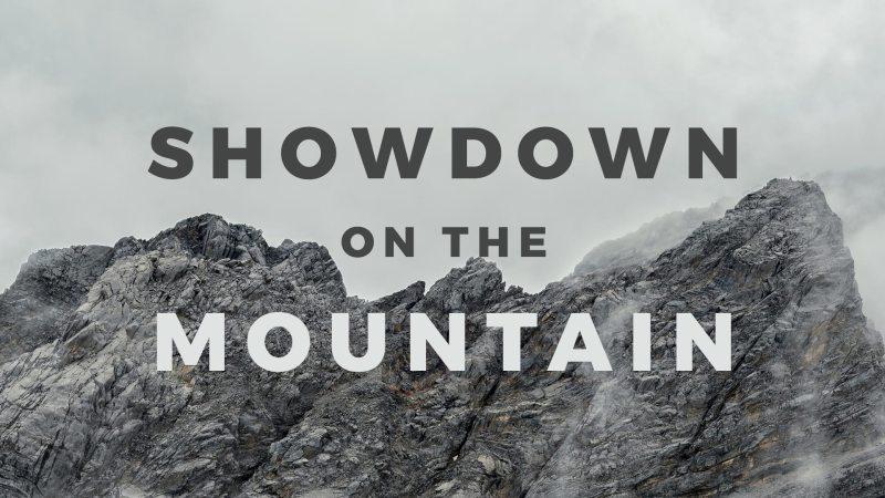 Showdown on the Mountain Image