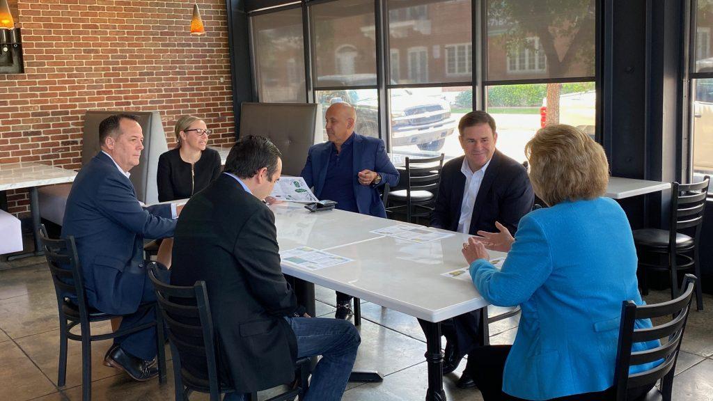 Ducey Posts Photos With Legislators At Phoenix Restaurant No