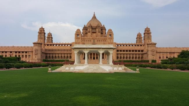 umaid bhawan palace jodhpur in india has been named the best