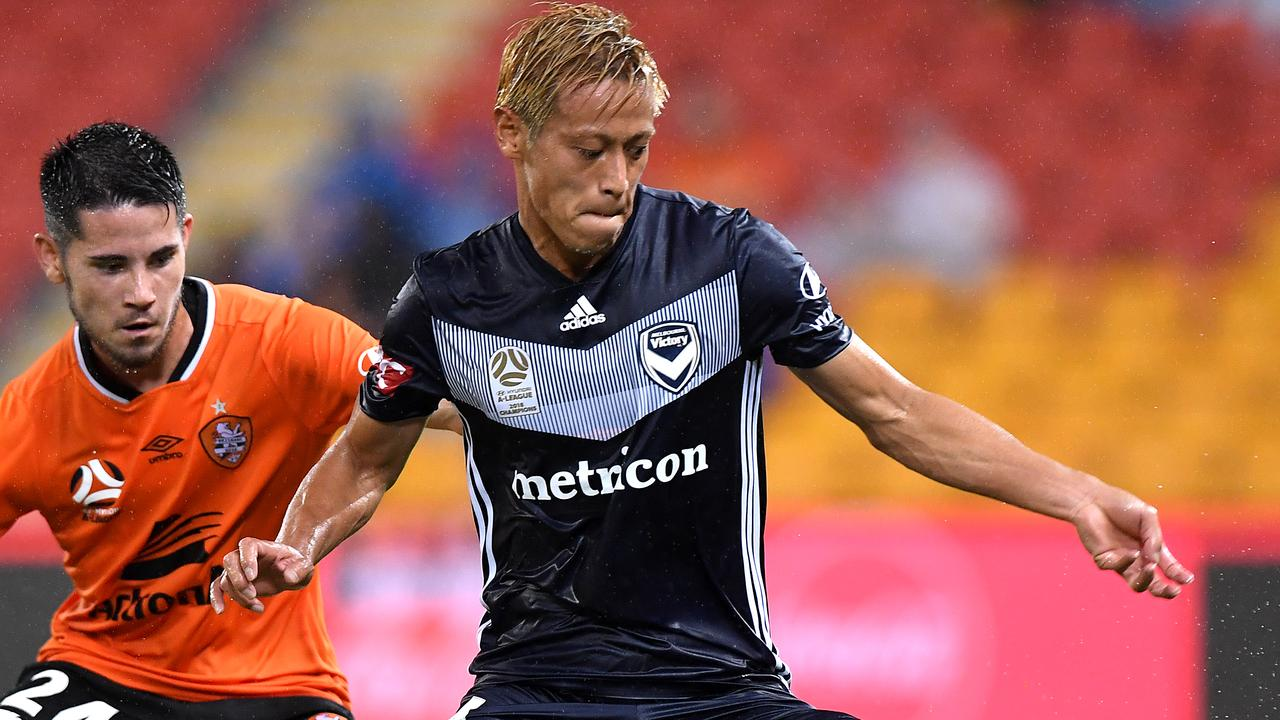 Keisuke Honda Injury Update A League Will Honda Play For Melbourne Victory Against Wellington