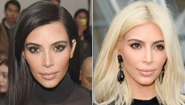 How I Became A Bottle Blonde Like Kim Kardashian Daily
