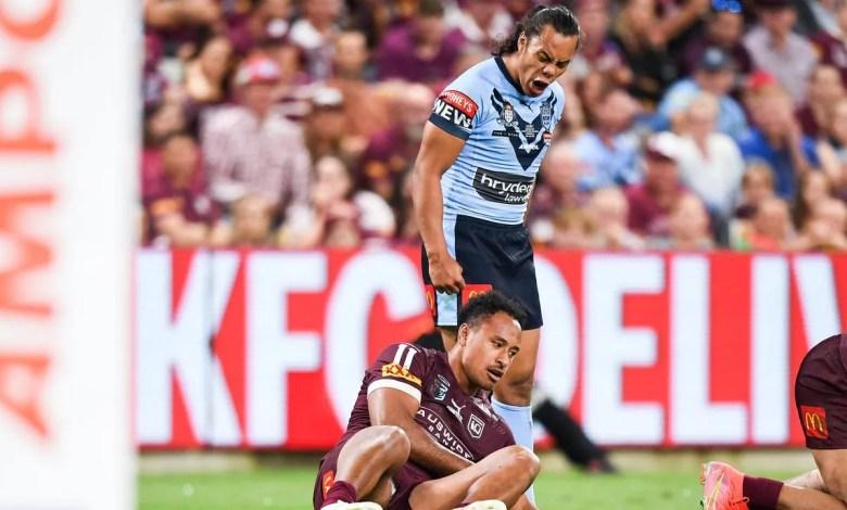 Jarome Luai photo, Queensland reaction, NSW team