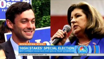 NBC, ABC Adopt Dem Talking Points, Hype Georgia Special Election as 'Referendum' on Trump