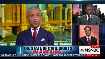 Sharpton Panel on MSNBC Frets Over Trump 'Killing the Dream' of Martin Luther King