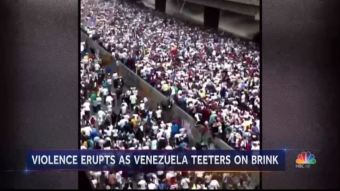 Venezuela Descends Into Dictatorship, But Networks Can't Be Bothered
