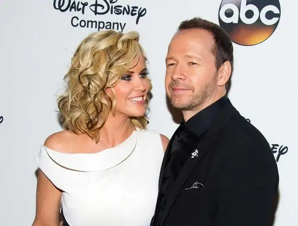 """Jenny McCarthy and Donnie Wahlberg at """"A Celebration"""