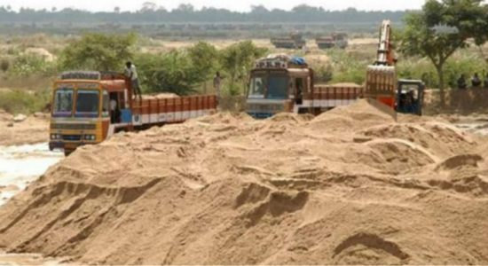 Do not inspect sand permits until govt. reaches a decision – Acting IGP