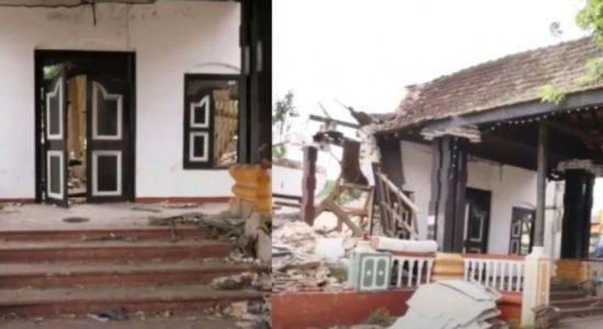 Kurunegala MC prohibits entry to demolished archaeological site