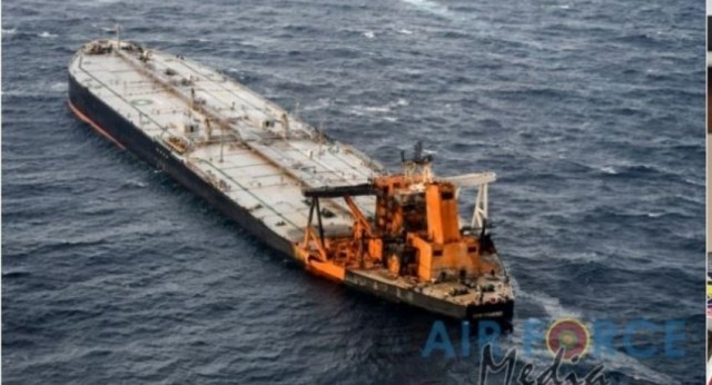 02 Nautical Mile Oil Slick surrounding MT New Diamond; Summons issued on Captain