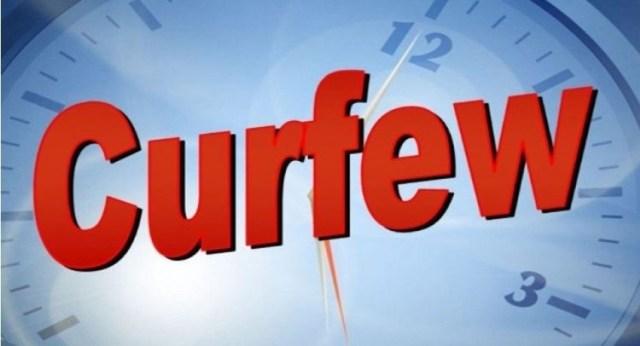 Quarantine curfew imposed in six police jurisdictions