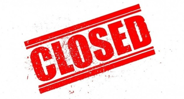Central Mail Exchange closed until further notice