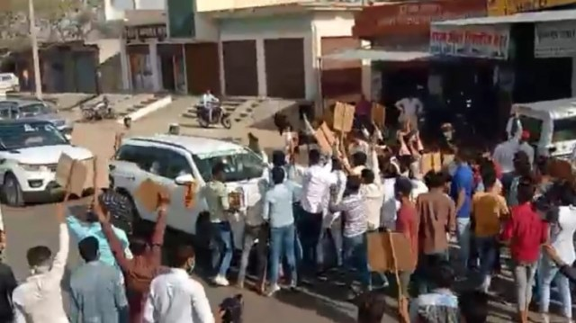 Farmer leader Rakesh Tikait attacked in Alwar