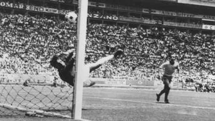 Image Result For Gordon Banks Wonder Save To Deny Pele At World Cup Bbc Sportsharepocket