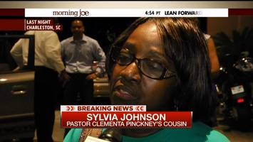 Sylvia Johnson, who spoke with one of the survivors