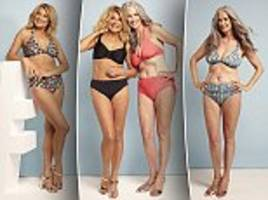 Jilly Johnson And Plus Size Model Nicola Griffin Show Off