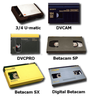 Broadcast Tapes Converted to Data File Formats