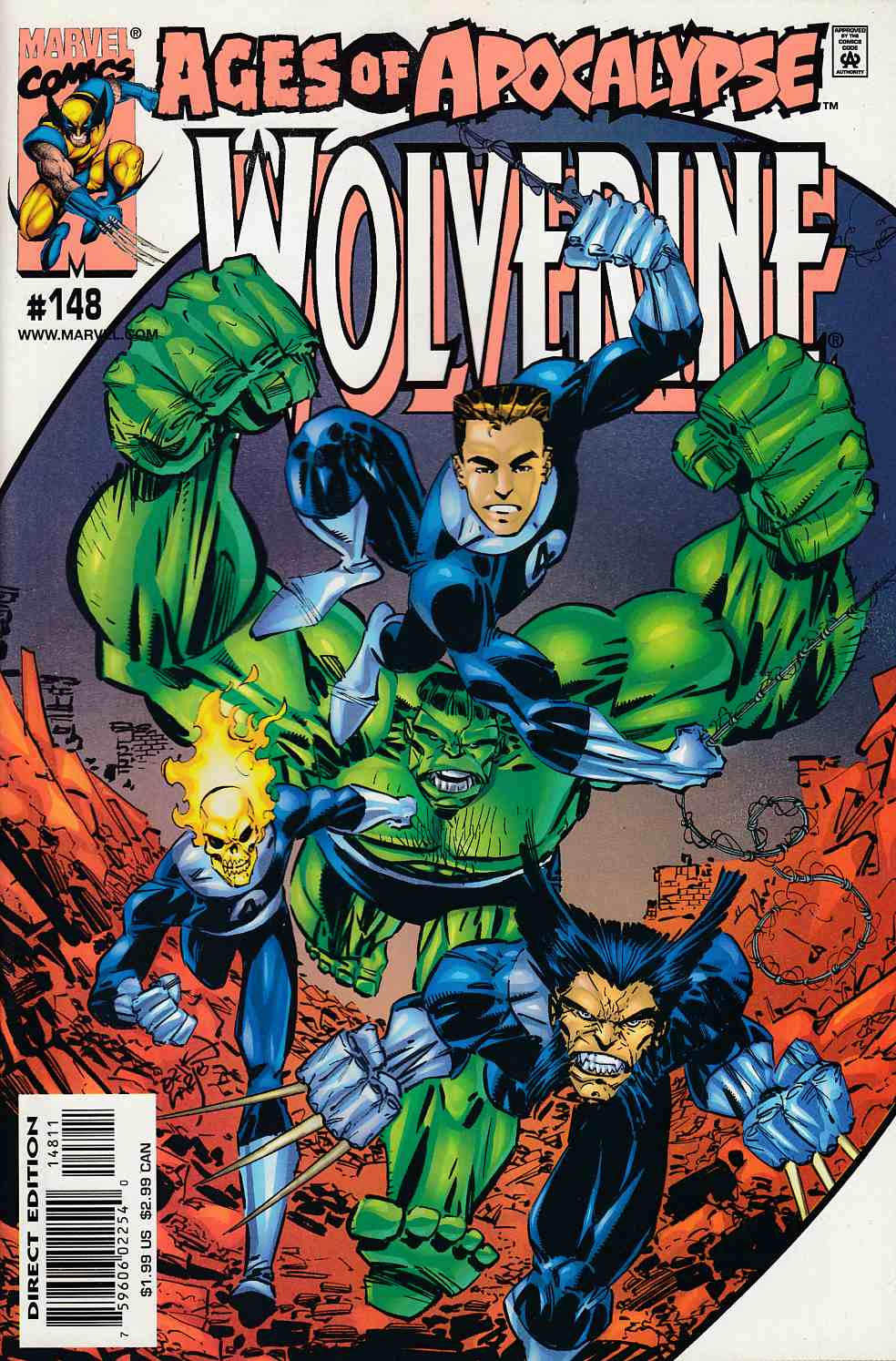 Wolverine #148 Near Mint (9.4) [Marvel Comic] – Dreamlandcomics.com Online  Store