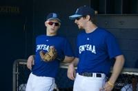 GNYSAA players Chris Gaffney and Seth Noreman