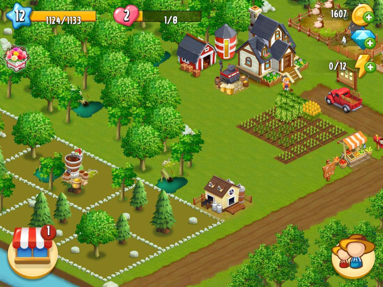 Happy Farm - Farm Games Free