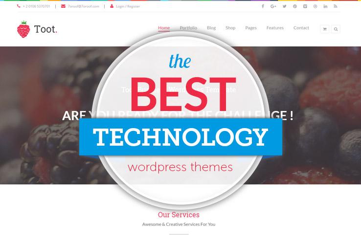 11+ Impressive WordPress Technology Themes 2017