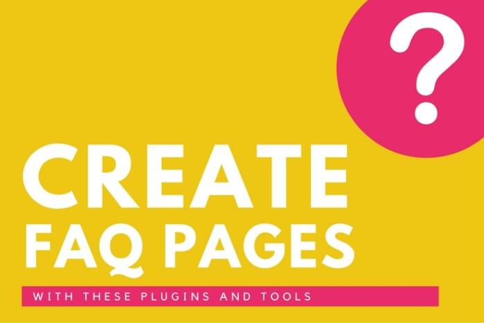 Crie uma Página de FAQ com Plugins