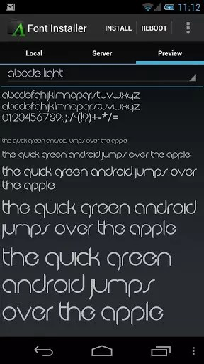 Font Installer1