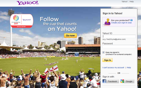 Yahoo mail 2011 sign in