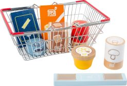 Groceries Set in a Shopping Basket by Small Foot
