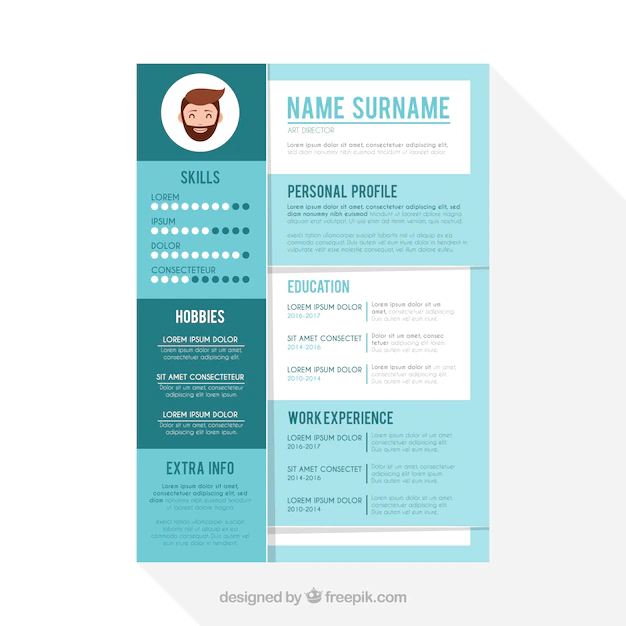 Cute Resume Template Nohat