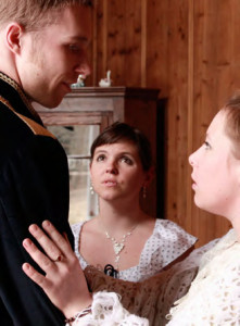 """""""I don't understand, Sasha. You can't be serious about marrying her?!"""" (Play, Martin Buchtík)"""