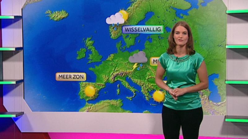 weersverwachting voor 27 juli 2013