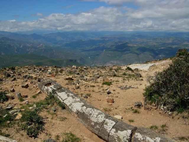 Um grande tronco petrificado perto de Sexi, Peru. Fonte: Serviço Nacional de Parques, CC BY-ND.