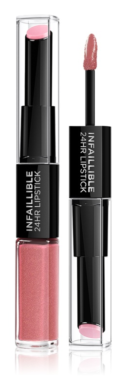 loreal paris infallible long lasting lipstick and lip gloss 2 in 1   17 - Hyaluronic Acid in Makeup