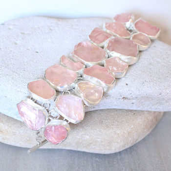 rose quartz jewellery